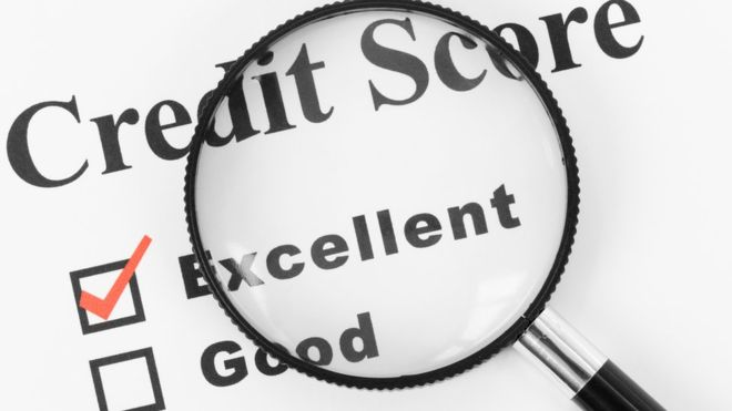how to improve your credit rating - credit score image