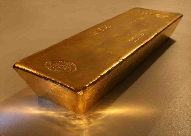 investing - gold bar image