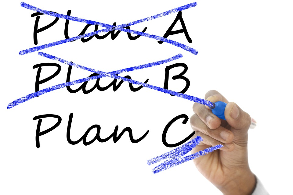 financial difficulties - change your plan image