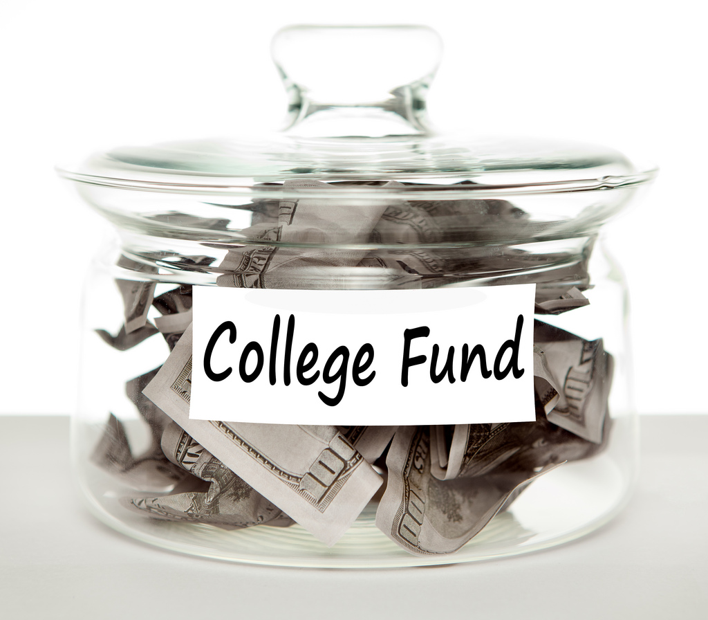 Money Math: Valuable Lessons To Learn At College - college fund jar image