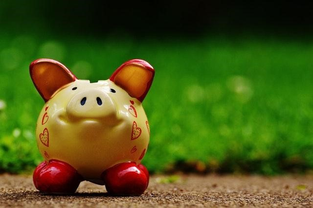 How to Teach Your Kids to Cut Household Expenses and Save Money - painted piggy bank image