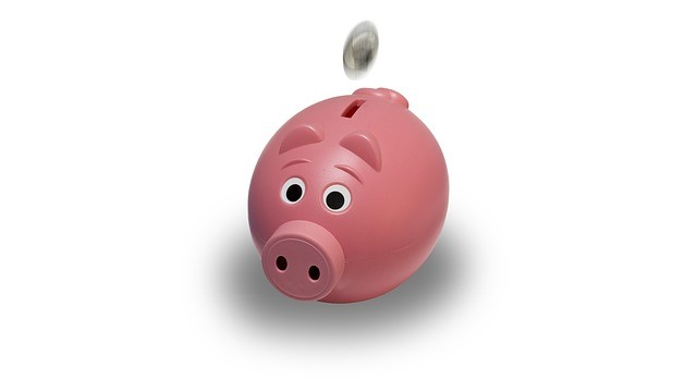 Investing in Your Children's Future - cartoon piggy bank image