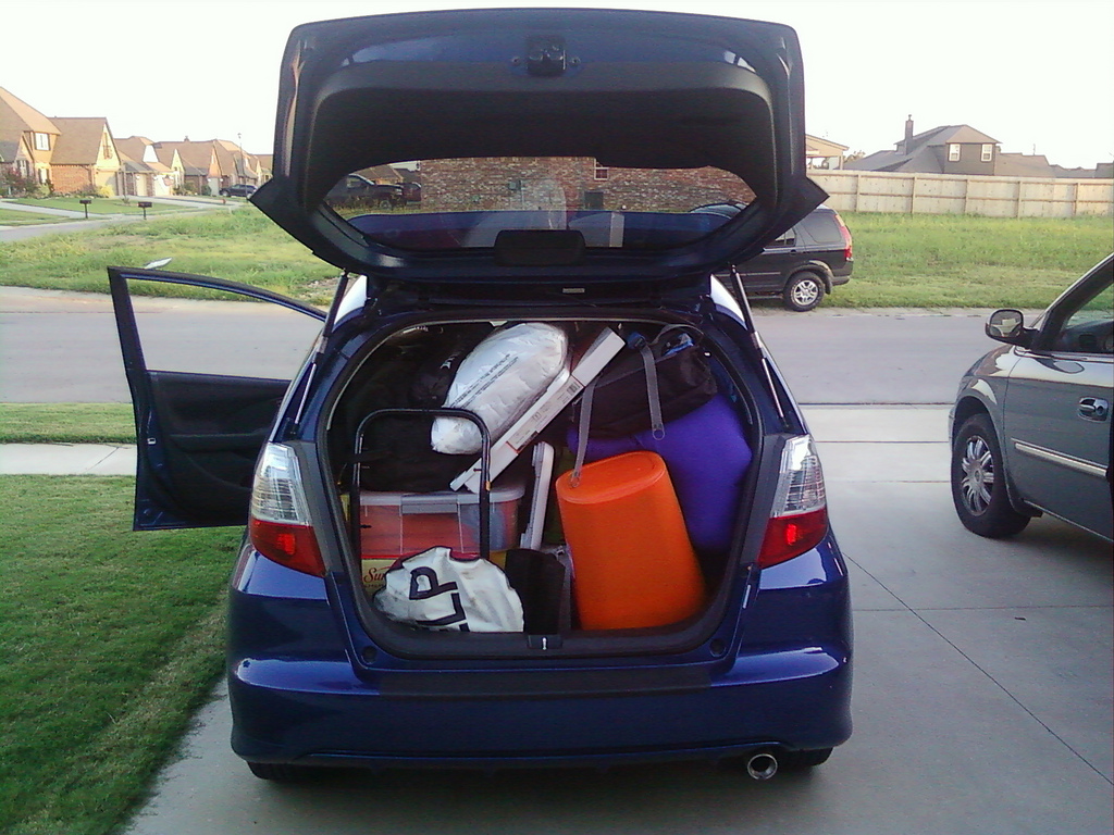 Teens: What You Need To Know About Flying The Nest - loaded car image