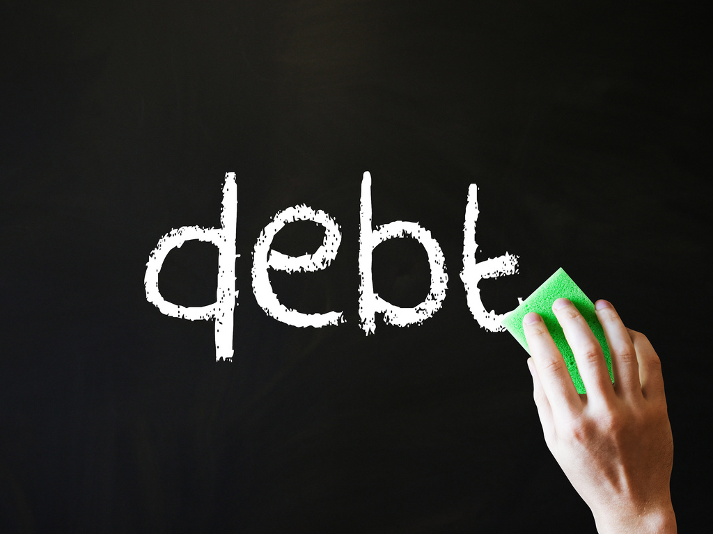 Skip The Rut & Avoid Debt - erasing debt image