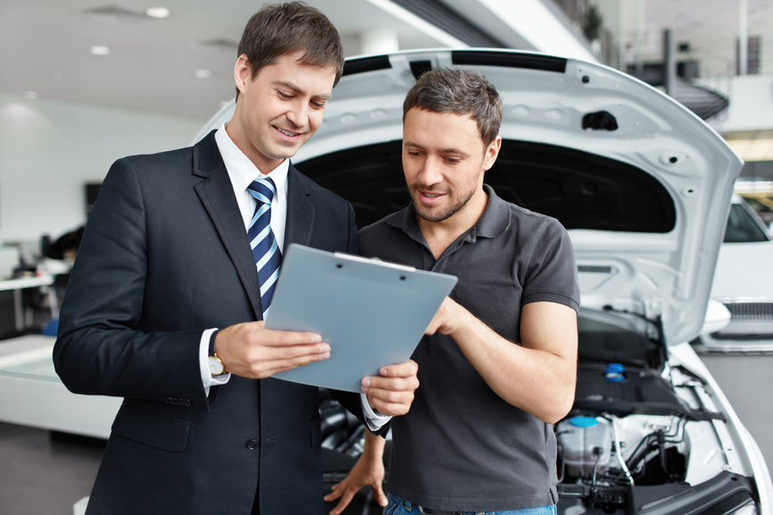 motor trade insurance image