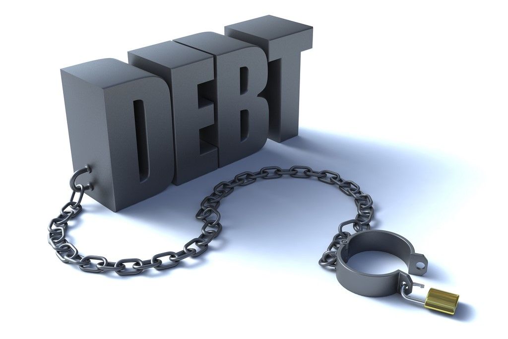 money problems - debt free image