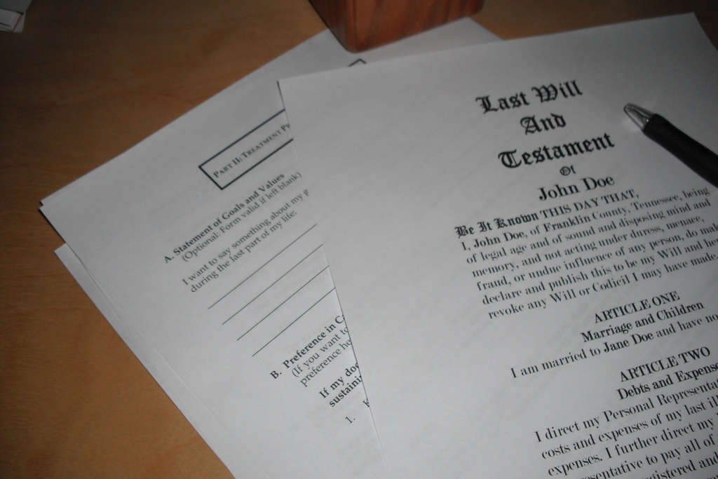 the importance of making a will - financial education image