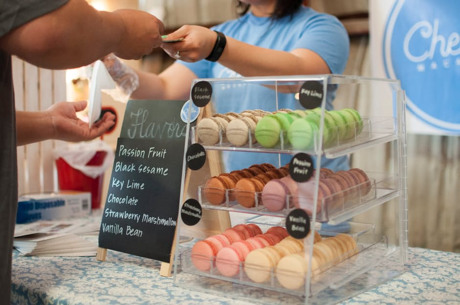 penny stretching - cake stall image