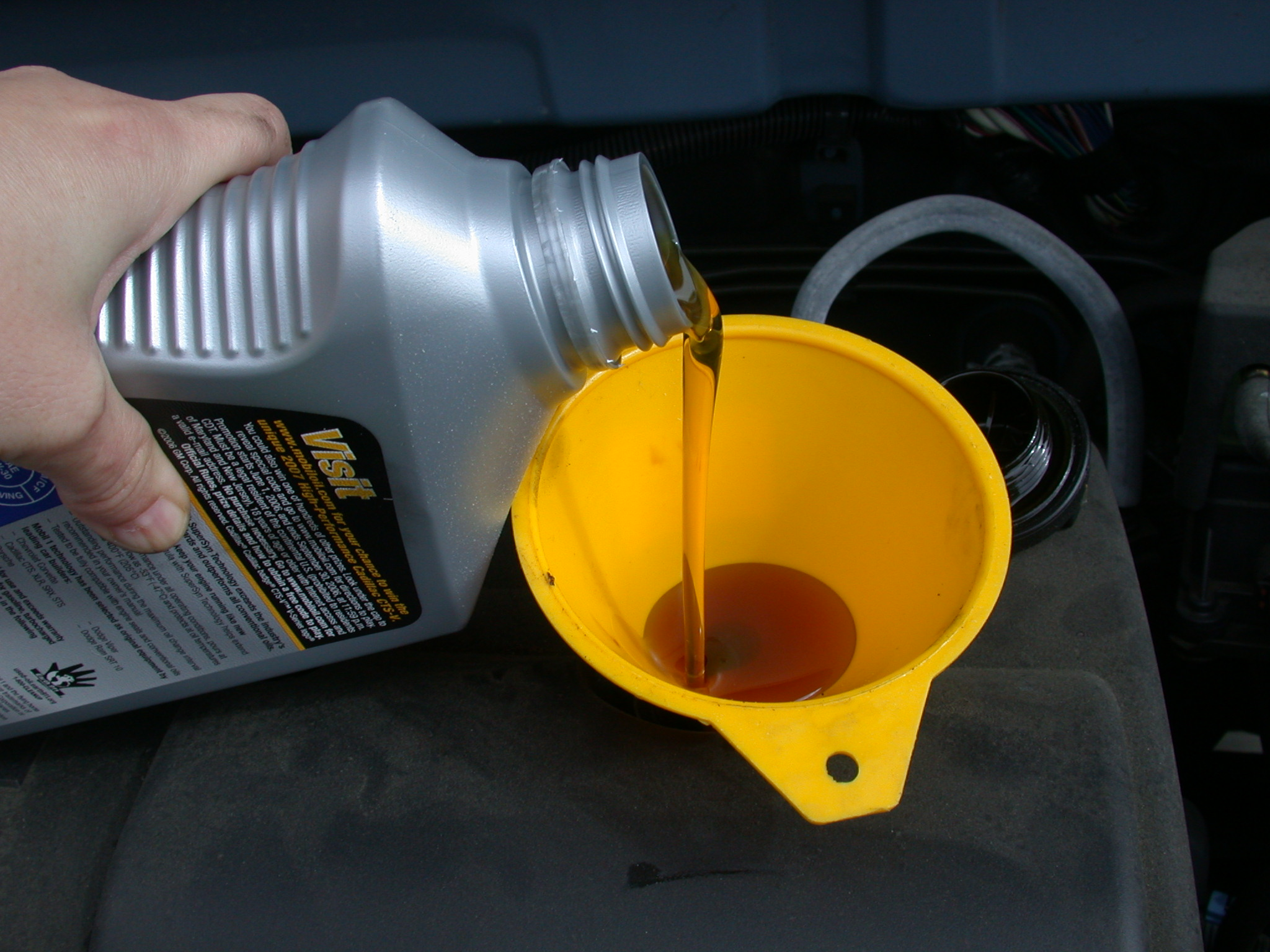 Are You Your Worst Financial Enemy - oil change image