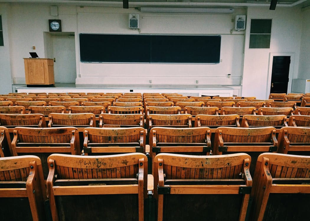 Get Your Money Ready To Go Back To School - lecture room image