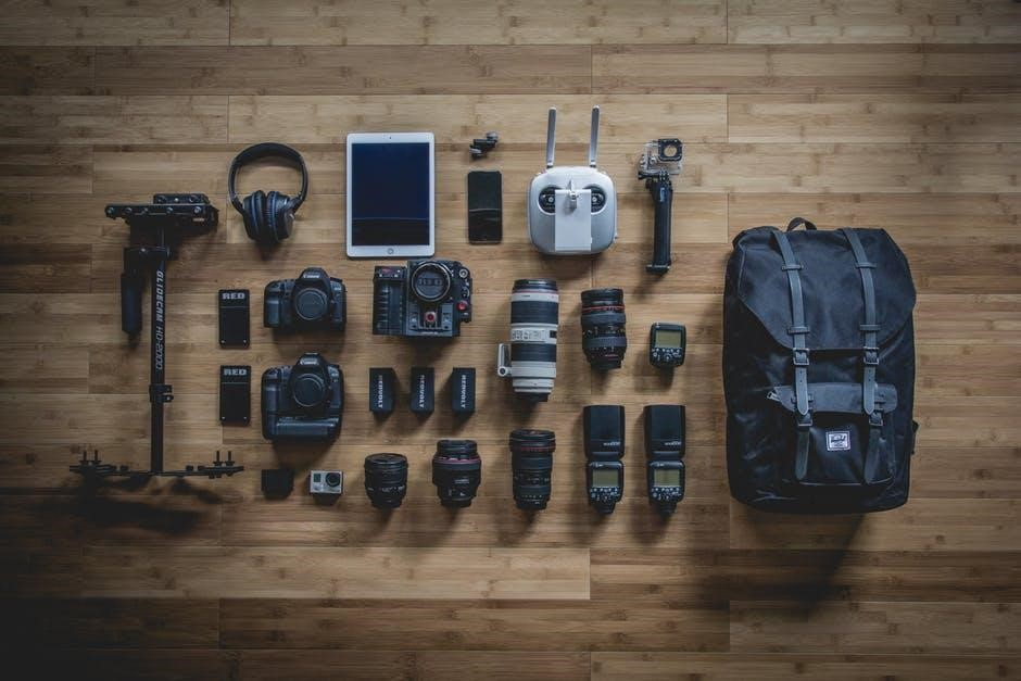 Filling Up Your Free Time, And Your Wallet In The Meantime - camera equipment image