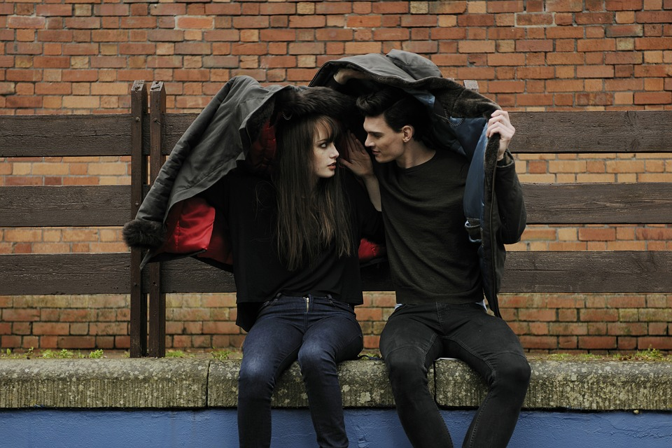 The Money Talks You Need To Have With Your Fiancee Now - rainy day couple image