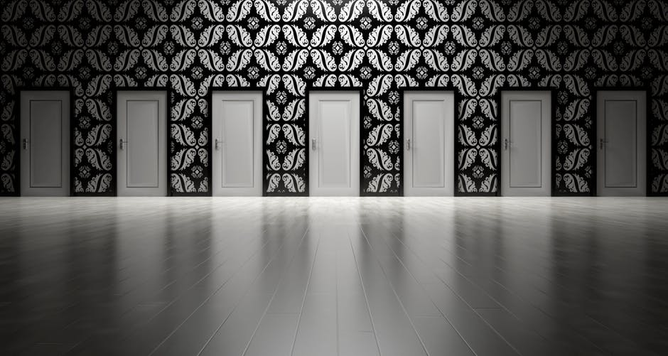 Securing Your Financial Risks One Good Business Choice At A Time - doors of choice image