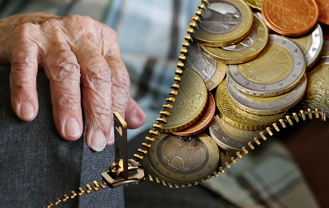 The Ages Of Money, And How To Be Financially Secure In Every One - old people and money image