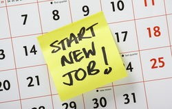 The Best And Worst Reasons To Sell Your House - start new job calendar image
