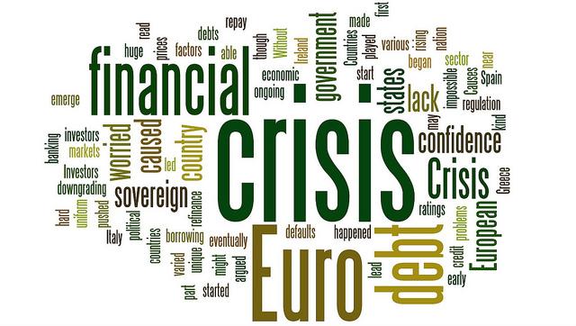 3 types of financial crises - financial crisis wordcloud