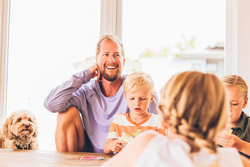 investing for your children's future - family finance image